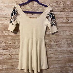 Free People   Short White Dress
